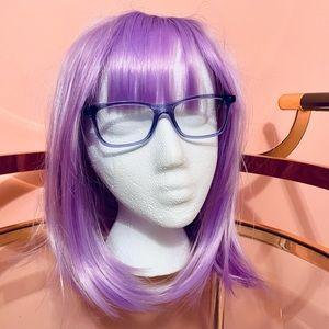Ray-Ban Translucent Violet Purple Eyeglasses